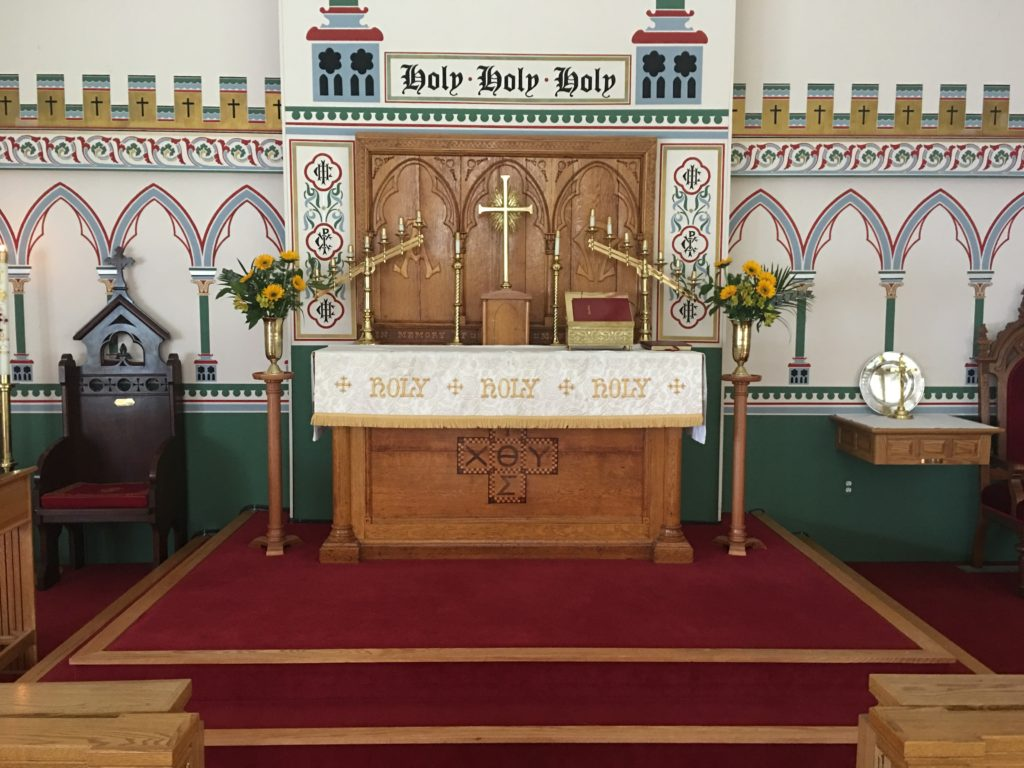 Altar Flowers — Easter IV, 2018