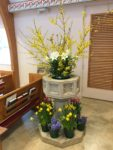 St Stephen's Font Easter 2018