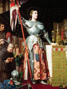 Joan at the Coronation of Charles VII