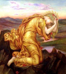 Demeter Mourning for Persephone