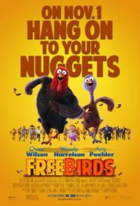 Free Birds Theatrical release poster