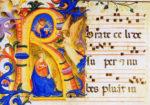 Rorate caeli manuscript illumination