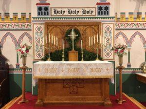 Altar Flowers — Epiphany III, 27 January 2019