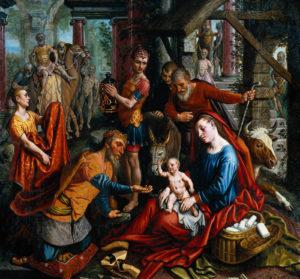 Pieter Aertsen The Adoration of the Magi