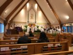 Maundy Thursday choir singing