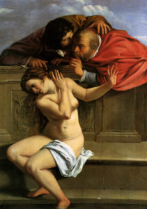 Susanna and the Elders Artemisia Gentileschi