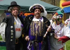 King Henry VIII, his Jester, and his Gaolor