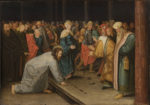 Pieter Brueghel II Christ and the Woman Taken in Adultery
