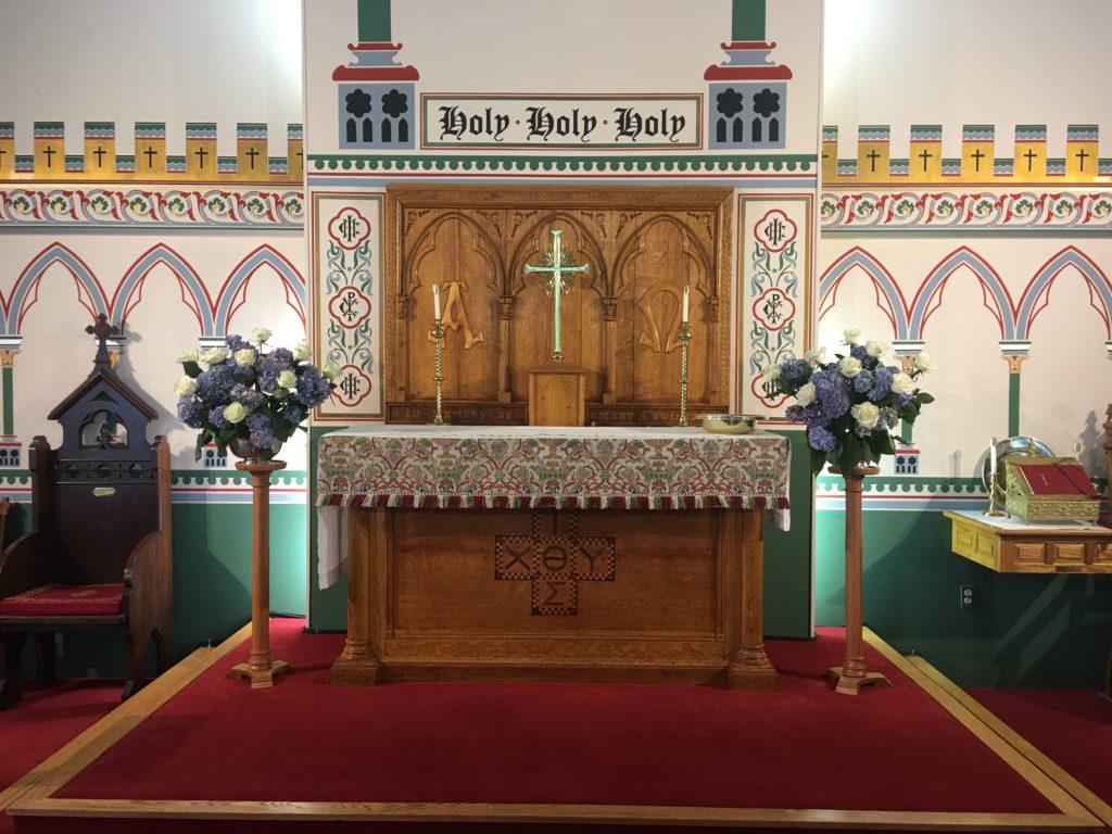 Altar flowers — Trinity IV, 14 July 2019
