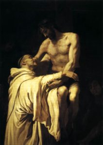 Francisco Ribalta Christ Embracing St Bernard