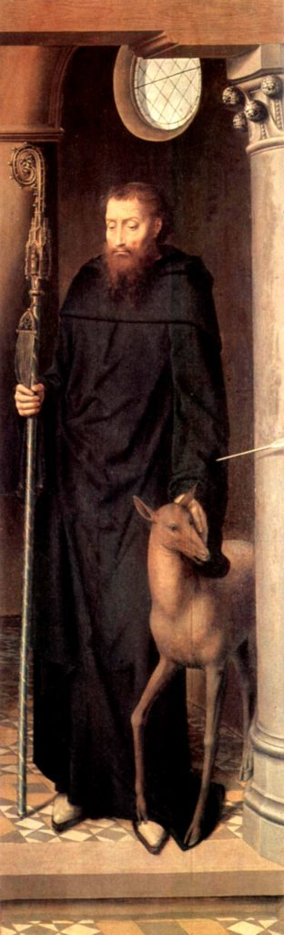Giles of Provence by Hans Memling