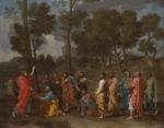 Nicolas Poussin The Sacrament of Ordination (Christ Presenting the Keys to Saint Peter)
