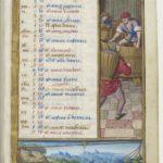 September from Les Petites Heures d'Anne de Bretagne