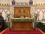 Altar flowers — Trinity XVI