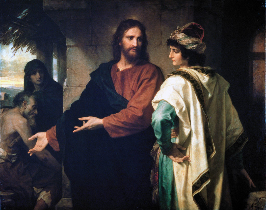 Hoffman Christ And The Rich Young Ruler