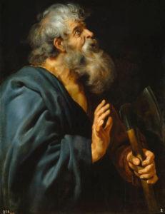 Saint Matthias by Rubens