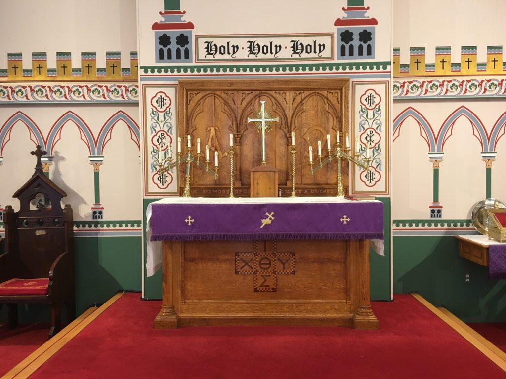 Septuagesima 2020 altar