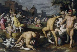 Cornelis van Haarlem Bethlehemse kindermoord