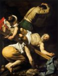 Crucifixion of Saint Peter Caravaggio