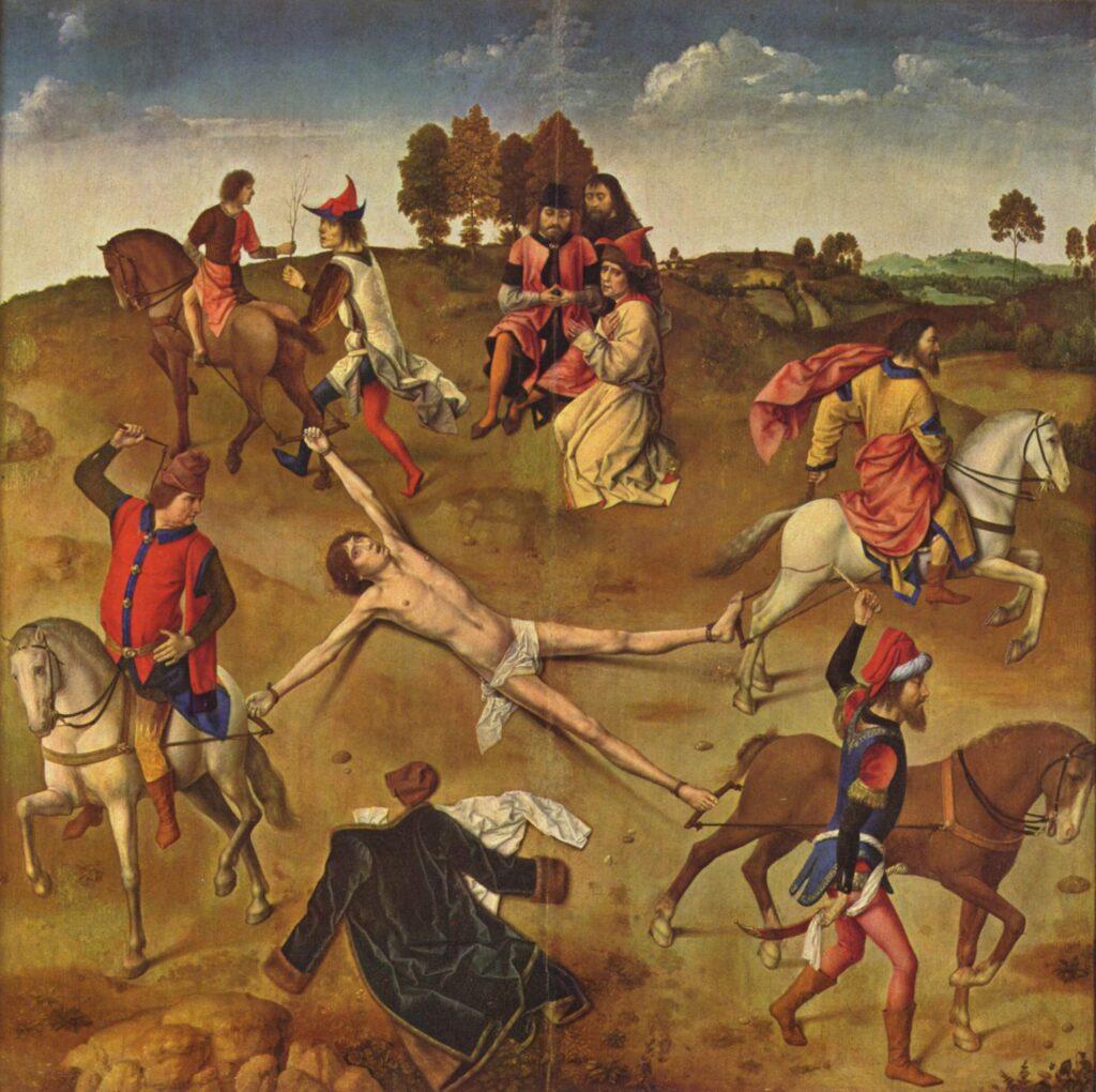 Martyrdom of St Hippolytus